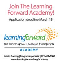 Join Learning Forward Academy